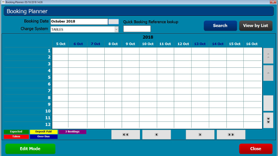CES Touch Bookings Module